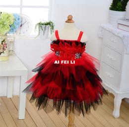 Wholesale Korean Mini Dresses For Summer - Red Pettiskirt for Girls Korean Children 2016 Summer Strap Dress Children Princess Dress 22