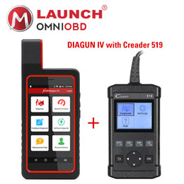 Wholesale Launch Creader Iv - Launch X431 Diagun IV X431 IV support Wifi Bluetooth Diagnostic Tool with CReader 519 CR519 OBD2 Code Reader Read Vehicle Information