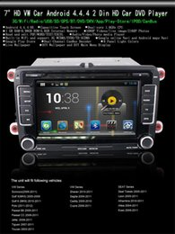 "Wholesale Dvd Vw Sharan - 7"" Android 4.4.4 Car DVD Player GPS for VW Scirocco Golf Polo Passat Jetta Tiguan Touran Sharan Free 8GB Card SCYF0369"