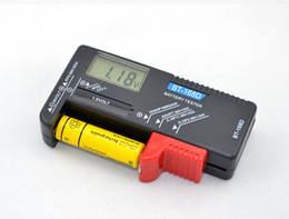 Wholesale Battery Aa C - BT168D Universal Battery Tester for 9V 1.5V and Button Cell AAA AA C D
