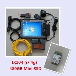 Wholesale Icom A2 B C - ICOM A2 with Laptop ix104 i7,4g + 480gb Mini ssd 2015.10 Expert Mode for bmw icom a2 b c professional diagnostic tool