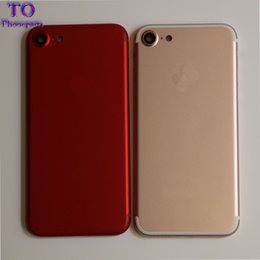 Wholesale Iphone Rear Housing - Back Rear Cover Battery Housing Door Chassis Middle Frame For IPhone 7 7 Plus White Gold Rose Jet And Matte Black