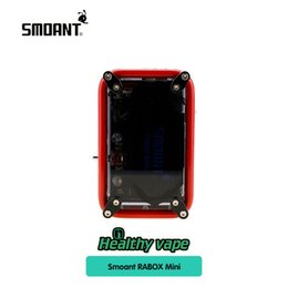 Wholesale Building Mechanical - 100% Original Smoant RABOX Mini 150W Box Mod with 3300mAh Built-In Battery Adjustable Mode Mechanical Mod Updated Smoant Charon TS