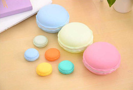 Wholesale Nice Display - Cute Candy Color Macaron Mini Cosmetic Jewelry Storage Box Jewelry Box Pill Case Birthday Gift Display cheap and nice looking