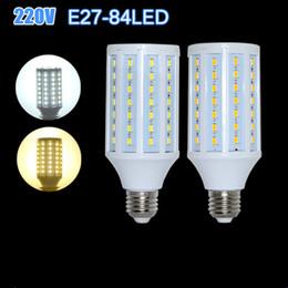 Wholesale E27 Led Corn Bulb Outdoor - 2015 Brand Led Corn Light E27 220V 25W Corn Bulb Light 84Leds 5730 SMD 5630 Lamp High brightness Crystal Outdoor Lighting