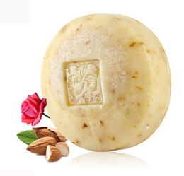 Wholesale Essences For Soaps - Sweet almond, rose essence, natural moisturizing skin, European imported Handmade Soap for body for face for hair
