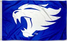 Wholesale Flag Logos - Kentucky Wildcats New Wildcat Logo Flag Banner 150CM*90CM 3*5FT Polyester Custom Banner Sports Decorative Flag