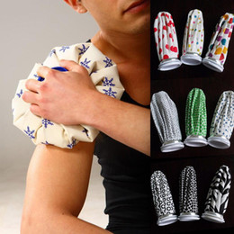 Wholesale Ice Cold Pack - Healthcare Ice Bag Sport Injury Cap Muscle Aches Relief Pain Cold Therapy Pack Reusable Ice Cold Water Hot Water Fabric Rubber Coolify Bags