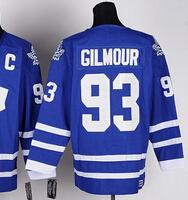 Wholesale doug gilmour - Top Quality ! CCM Men Toronto Leafs Ice Hockey Jerseys 93 Doug Gilmour Throwback Vintage Authentic Stitched Jerseys Mix Order !