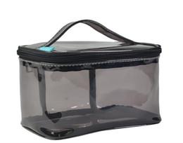 sacos plásticos para cosméticos Desconto Viagem Limpar Saco de Bolsas para Maquiagem Cosméticos Transparente de Plástico de boa qualidade bolsas populares do vintage frete grátis