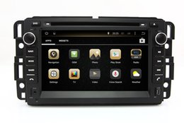Wholesale Car Dvd Player Gmc - Android 4.4 Car DVD Player for GMC Yukon Tahoe 2007-2012 with GPS Navigation Radio Bluetooth USB AUX MP3 Head Unit