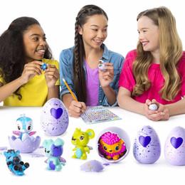 Wholesale Pets Boys - Hatchimals hachi magic eggs toys hatching eggs puzzle pets children boys and girls magic Q pet toys