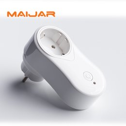 Wholesale Power Plug Timer - New Smart Plug wifi Power Socket Plug Timer voice control for Andriod IOS Smartphone EU US UK