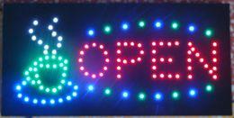 Animado LEVOU Xícara De Café Café LEVOU Neon Luz de Negócios Tamanho Tamanho 48 cm * 25 cm Semi-ao ar livre Frete Grátis de Fornecedores de levou sinal café
