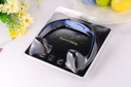 Wholesale I4 Wireless Stereo Bluetooth Headset - Bluetooth Headphone S9 Wireless Stereo Headset Sports Bluetooth Earphone Bluetooth In-Ear Sport Earphone For i6 i5 i4 Galaxy S6