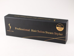 2017 New Original KangRoad Steam Hair Straighteners Professional Hair Iron Salon Steam Styler 2 in 1 Hair Straightening Irons Flat da