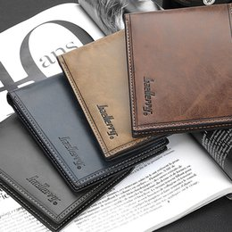 Wholesale Cheapest Leather Shorts - allets Holders Wallets 2015 Famous Brand Genuine PU Leather Business Slim Short Cheapest Men Small Wallets, Male's Card Holder Purse ...