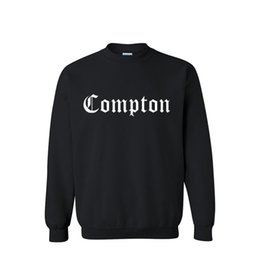 Wholesale Compton Sweatshirt - Wholesale-Free shipping a man hoodies fashion 2015 new Compton printed cotton hoodie sweatshirt sportswear