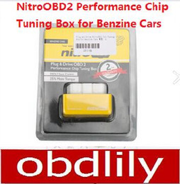 Wholesale Renault Engine Tuning - Plug and Drive NitroOBD2 Performance Chip Tuning Box for Benzine Cars Diesel Cars