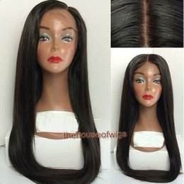 Wholesale Hair Wig Factory - Human Hair Wigs Factory Pre Plucked Hairline lace front wig black girl With baby hair bleached knots Natural looking