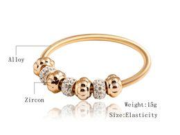 Wholesale Big Crystal Rock - New Fashion Cuff Bracelets Bangle Rock Star Trendy Alloy Plated Gold Big Geometric Crystal Bangles Jewelry Women