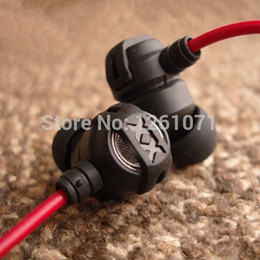 Wholesale Headphone Good Bass - Wholesale-NEW 3.5mm in ear headphones FX1X good bass sound in-ear earphones headset for MP3 Mobile Phone free shipping Drop shipping