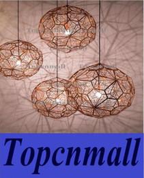 Wholesale Etch Web Pendant - Hot Tom dixon Modern brass Etch web pendant light Creative Diamond Pendant Lamp Dia 40cm 65cm silver gold