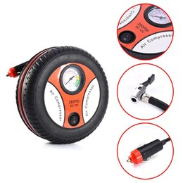 Wholesale Tyre Pump For Car - Air Pump Car Electric 12V Convenient fashion Compressor Tyre Inflator and Can Use For Automobi Bicycles Swimming Rings