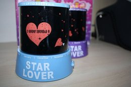 Wholesale Free Music Keyboard - Automatic rotation Free shipping birthday gift led Star Projector Lamp Star Projector lamp rotating Starry Light Music Star Light