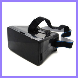 Wholesale Lens For Headset - Google Cardboard Virtual Reality VR Mobile Phone 3D Headset Glasses 3D Movies Games w  Resin Lens For 3.5 to 5.5 inch Smartphone