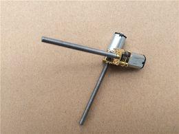 Wholesale M4 Motor - 1pcs GA12YN20 M4 Great Screw Gear Motor Micro Thread Motor DIY Miniature DC Motor With 55mm Length Shaft
