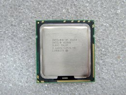 Wholesale Cpu Intel Xeon Server - Free shipping Original Intel Xeon X5650 processor 2.66G LGA 1366 12MB L3 Cache 6-Core 12 threads TDP 95W Server & desktop computer CPU