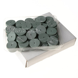 Wholesale Dental Lab Silicone - 100Pc pack dental Lab Rubber Polishing Wheels Burs Silicone Polishers