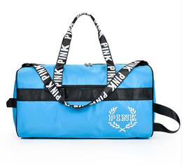Wholesale Fresh Male - Outdoor Male Female Sport Bag Waterproof Hiking Handbag Fitness Shoulder Gym Bag Training Yoga Duffel Bag