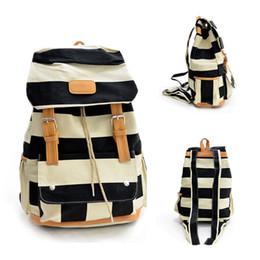 Wholesale Vintage Crochet Bag - S5Q Women backpack Vintage Canvas Travel Satchel Shoulder Backpack School Rucksack Bags AAAEMB