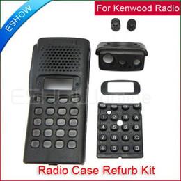 Wholesale Case For Walkie Talkie - Wholesale-Free shipping! Radio Service Parts Case Refurb Kit For Kenwood CB Radio TK- 378 Walkie talkie J0118A Eshow
