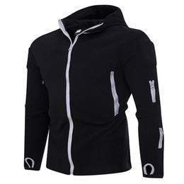 Мужская молния тонкий с длинным рукавом свитер мужской сплошной цвет повседневная кардиган с капюшоном куртка молодежи Blast горячий продавать от