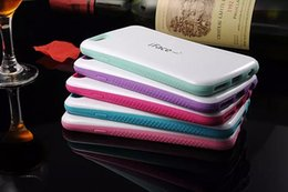 Wholesale Iphone 5c Dot Cases - For iphone 7 I7 6S 6 Plus I6S 4 4S SE 5 5C 5S IFACE Soap Case MIX Color Korea Protective Dot Hybrid Soft TPU PC Hard ShockProof Cover Luxury