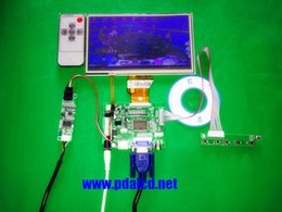 Canada Vente en gros - pour INNOLUX 7,0 pouces Raspberry Pi LCD Écran Tactile Écran TFT Moniteur AT070TN92 + Kit Écran Tactile HDMI VGA Carte Pilote D'entrée cheap hdmi input lcd monitor Offre