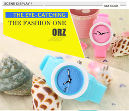 Wholesale Womens Jelly Silicone Watches Wholesale - Wrist Watch Smartwatch Automatic Watch Watches Fashion Womens Mens Kids Girls Boys Ladies Geneva Wrist Watches Jelly Color Silicone Watches