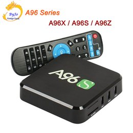 Wholesale Android Tv Series - A96 Series Android TV Box A96X A96S A96Z Amlogic S905X Quad Core Android Marshmallow HDMI 2.0 2.4G 5G WIFI 2K 4K BOX HD BOX