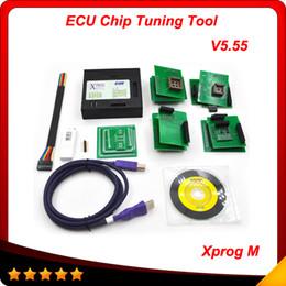 Wholesale Ecu X - XPROG M Box V5.55 ECU chip tuning Programmer X-PROG box 5.55 2015 New version xprog 5.50 XPROG-M V5.55 free shipping