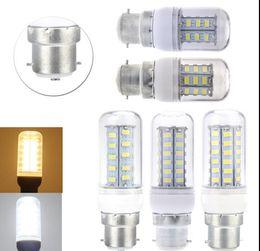 Wholesale Maize Lamp - B22 E27 E26 E14 E12 GU10 G9 LED Corn Bulb 5630 5730 SMD 18W 56LED 22W 69 LEDs 1650LM With Cover 360 degree Maize Lamp Cool Warm White