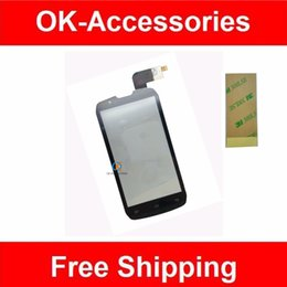 Wholesale Iphone Fpc - Wholesale- Black Color For Highscreen Boost FPC-2 DNS S4502 Touch Screen Digitizer High Quality 1PC Lot With Free 3M Adhesive Tape