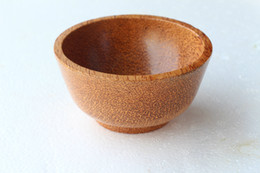 Wholesale Wooden Craft Ships - New Arrival nature wood wooden tableware bowl bowls environmental wood handmade craft bowl dinner bowls Free Shipping
