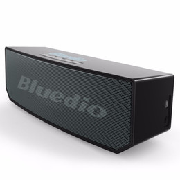 Wholesale Hifi Stereo Sound System - newest Bluedio BS-5 Mini Bluetooth speaker Portable Wireless BS-3 speaker Sound System 3D stereo Music surround subwooferfree shipping