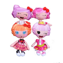 Wholesale Lalaloopsy Cartoon - Retail 30cm Lalaloopsy Plush Dolls Girls Fashion Dolls Toys Good Gift Toys For Children Cartoon Kawaii Big Button Eyes Doll Reborn Baby Toy
