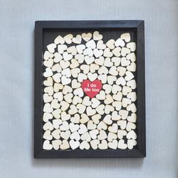 Wholesale Guestbook Heart - Unique Wedding Guestbook, wedding dropbox guestbook , alternative guestbook , Drop in Heart Wedding Guestbook , Wedding Guest book