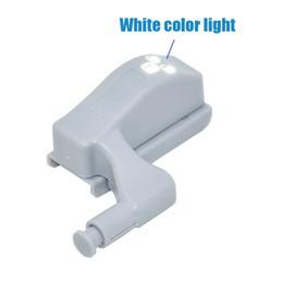 Canada 600 pcs 0.25 W LED Capteur Lumière Cuisine Chambre Salon Armoire Induction Placard Garde-Robe Charnière Intérieure Lampe avec Batterie Offre