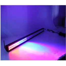 Wholesale High Intensity Waterproof - Newest 18colors changeable led light bar 288w 50inch RGB high intensity LEDs Remote Multi-Color Control Waterproof LED Driving Light